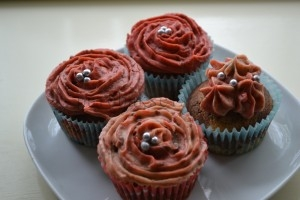 marmer rozen cup-cakes (4)