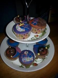 zwarte piet cup-cakes 2