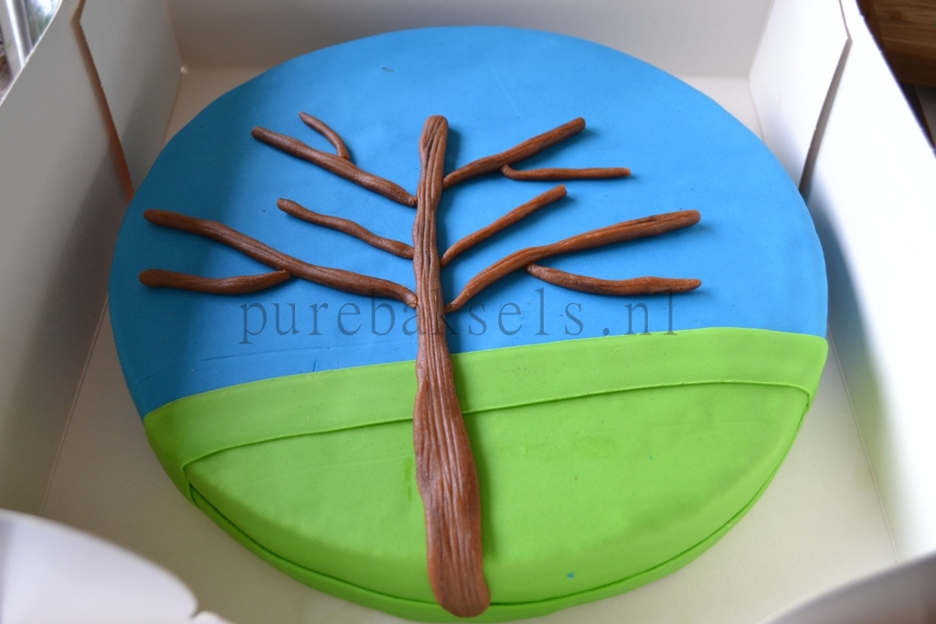 taart met boom