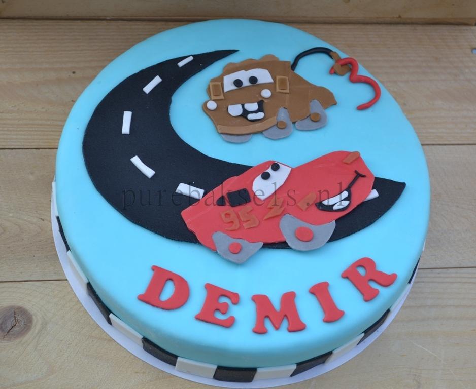 cars taart (5)
