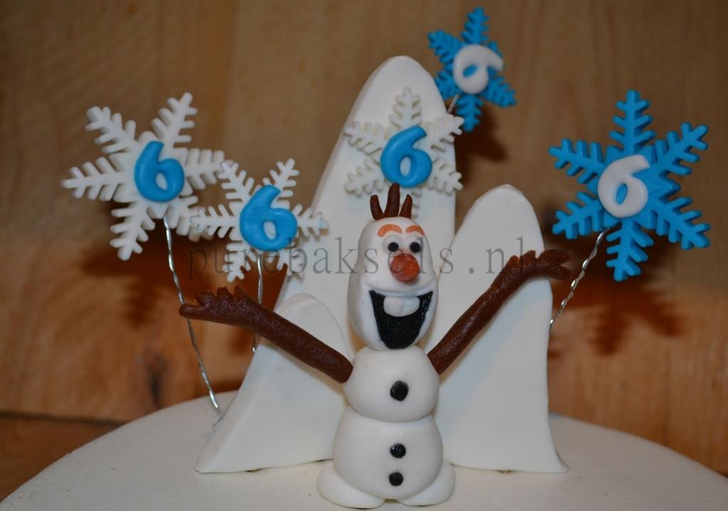 Frozen taart (3)