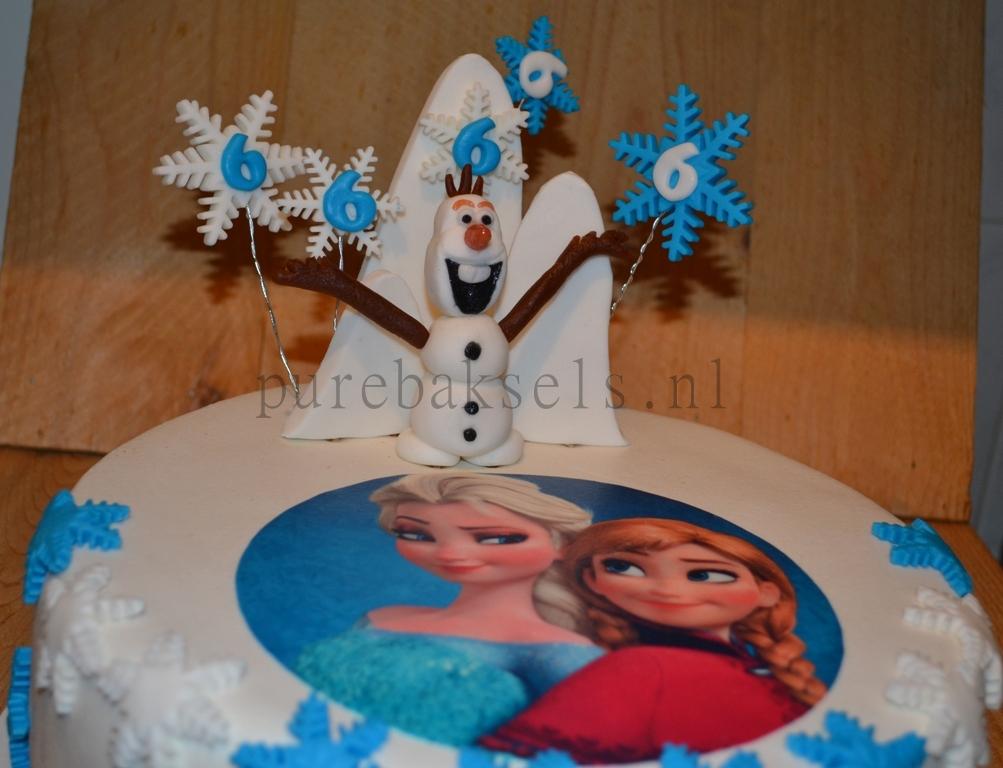 Frozen taart (5)