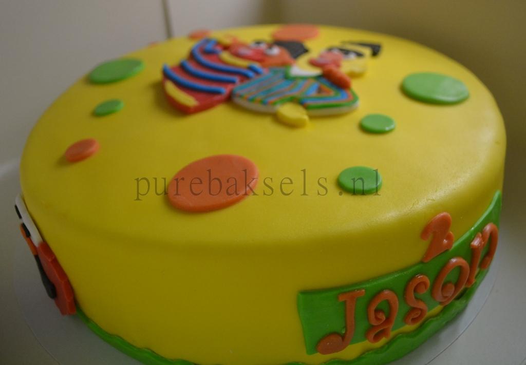 sesamstraat taart (1)