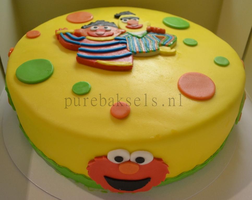 sesamstraat taart (3)