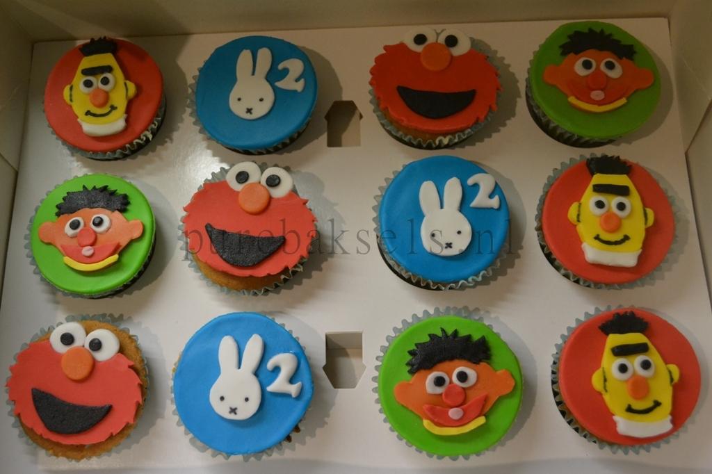 sesamstraatnijntje cupcakes (1)