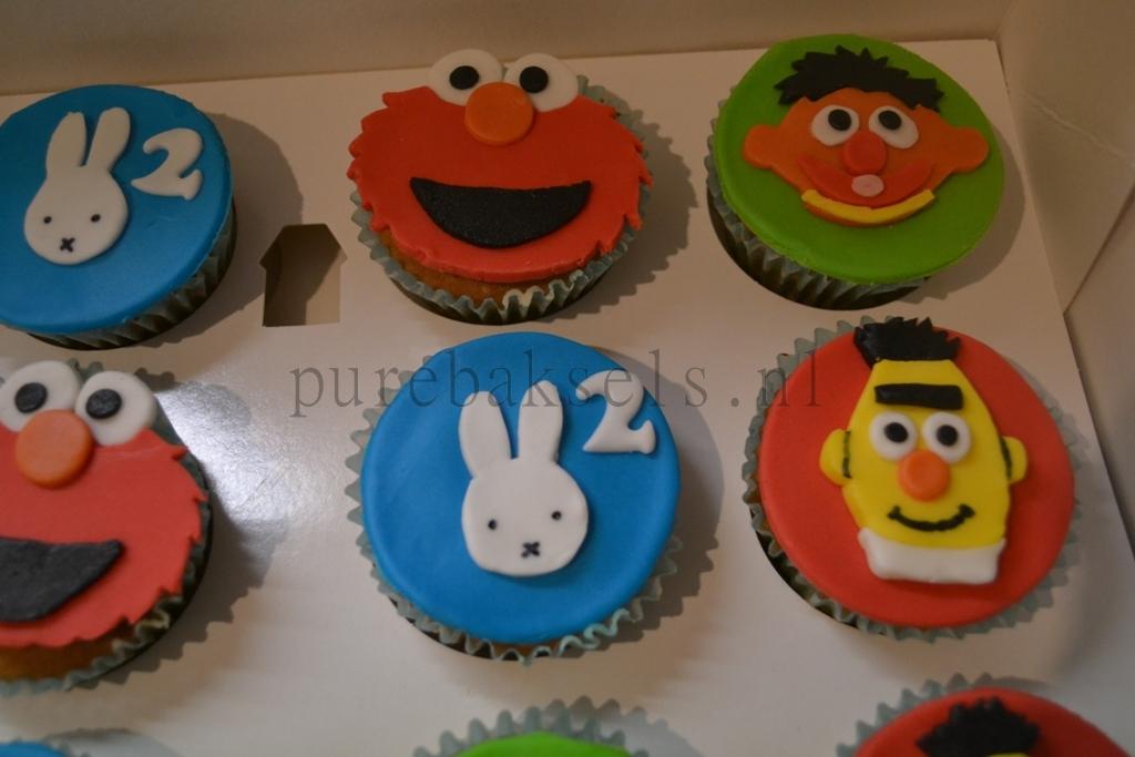 sesamstraatnijntje cupcakes (2)