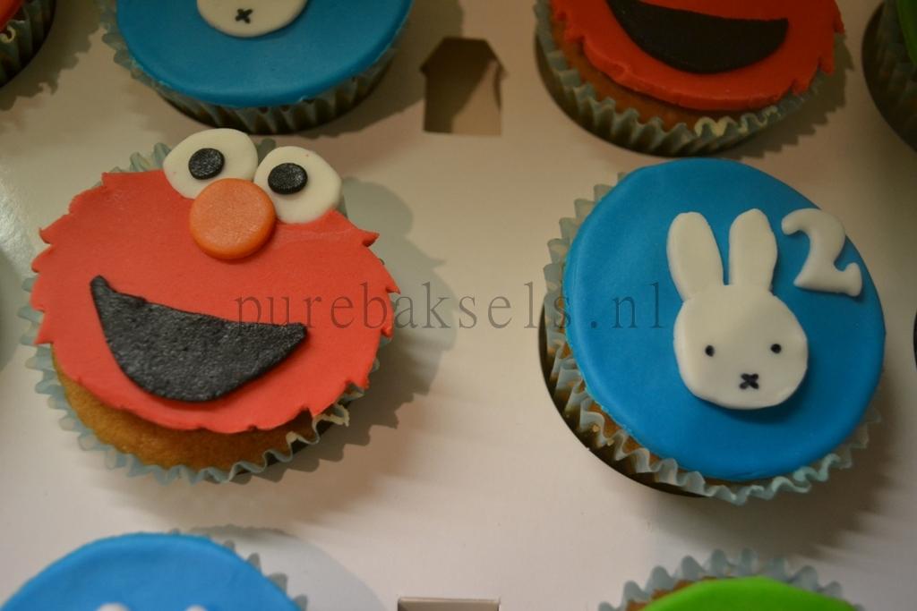 sesamstraatnijntje cupcakes (3)