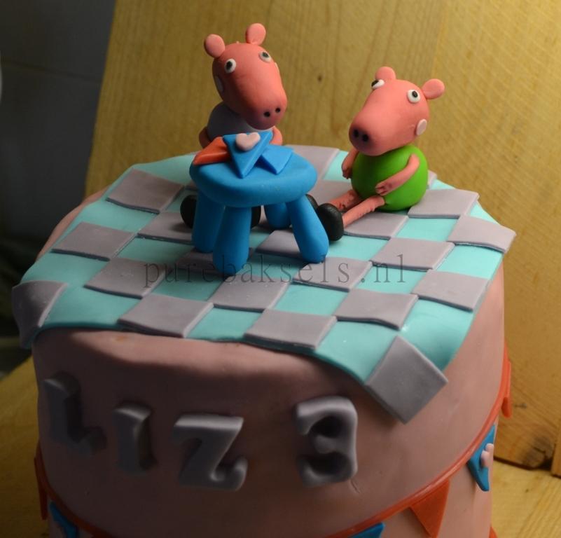 Peppa pig taart (5)