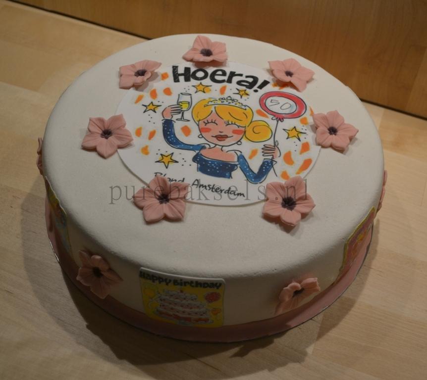 Blond taart (2)