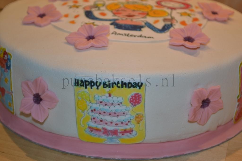 Blond taart (3)