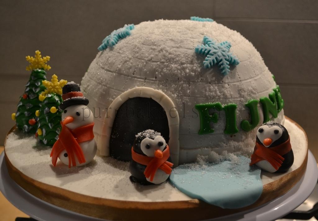 kerst iglo taartje (1)