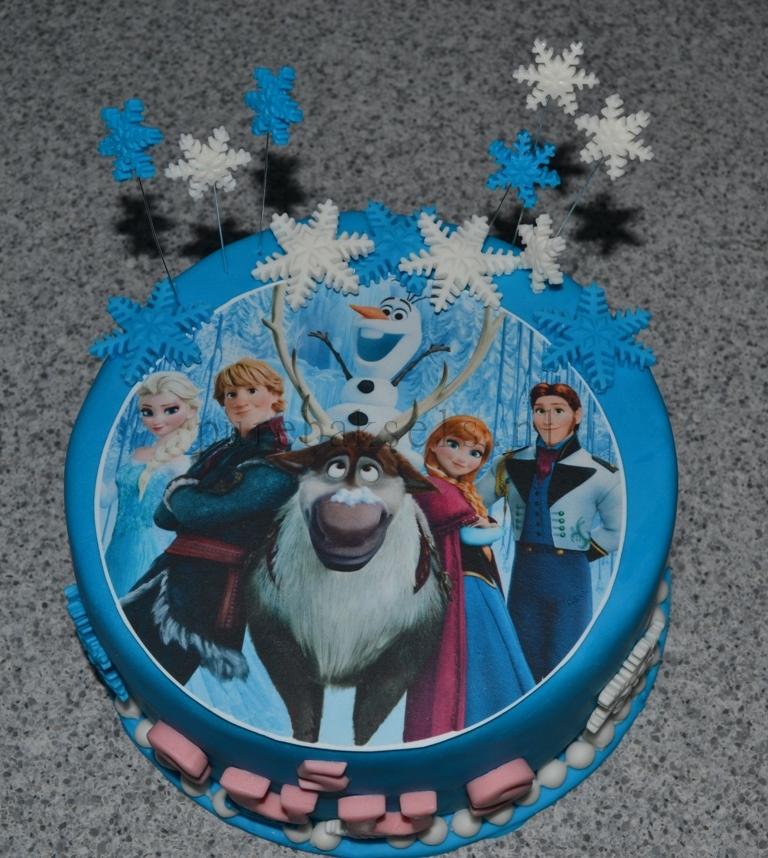 Frozen taart 3 (2)