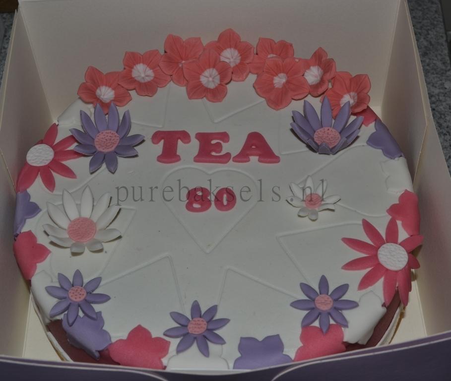 Bloemen taart (1)