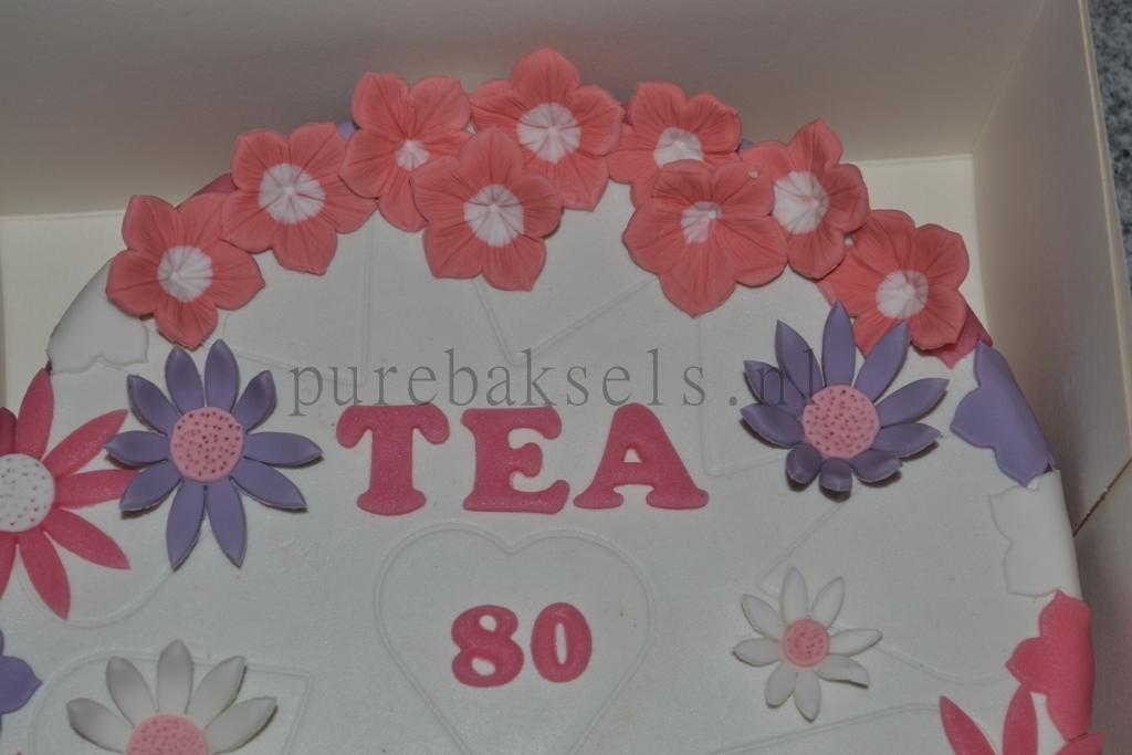 Bloemen taart (2)