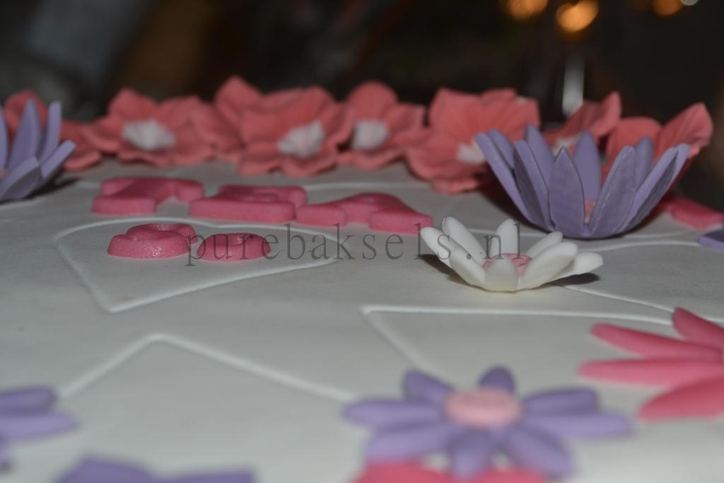Bloemen taart (4)