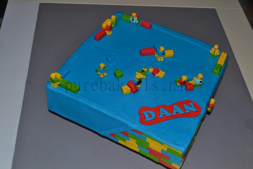vierkante lego taart (1)