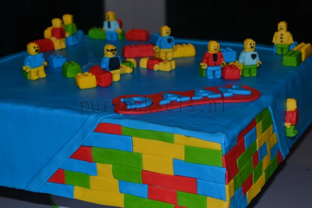 vierkante lego taart (3)