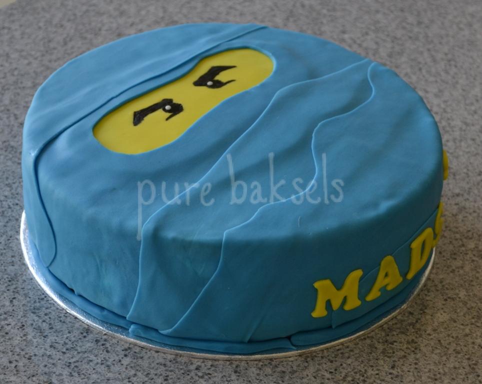Blauwe ninjago taart (1)