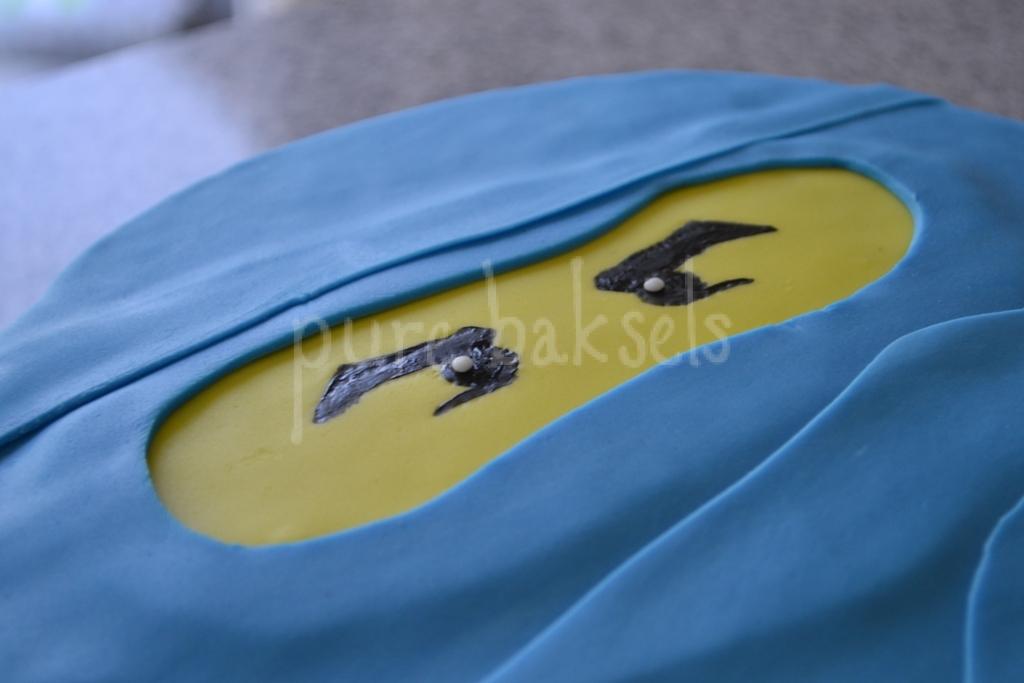 Blauwe ninjago taart (3)