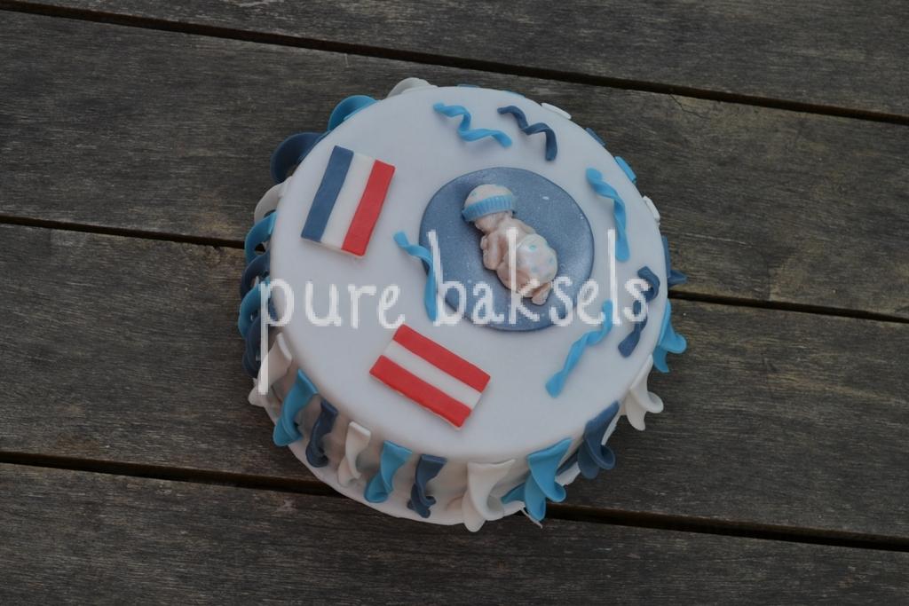 Babyshower taart (2)