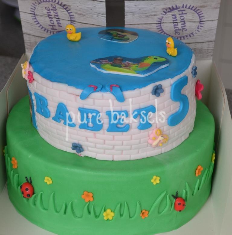 Zwembad taart (5)