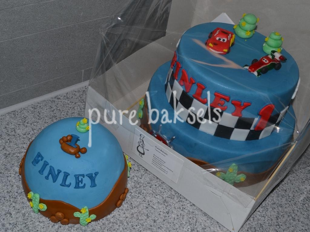 Cars taart Finley (1)