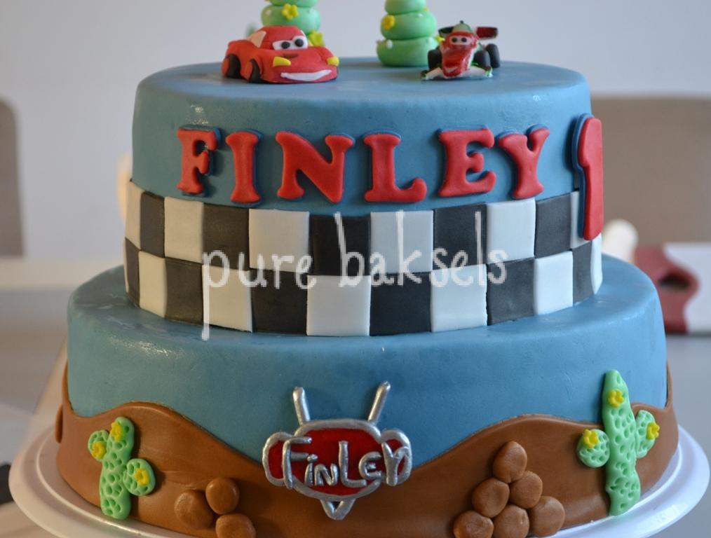 Cars taart Finley (2)