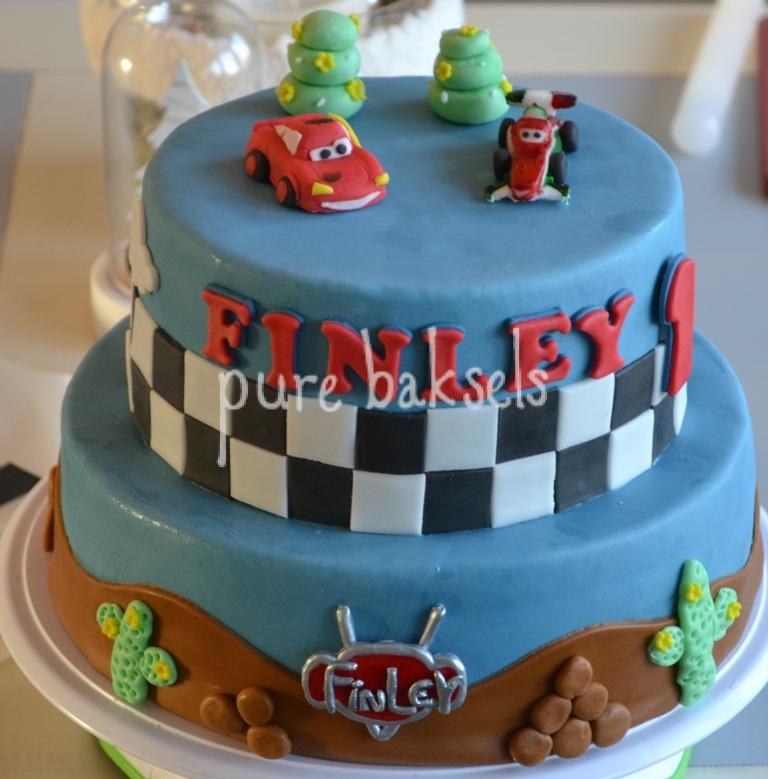 Cars taart Finley (3)