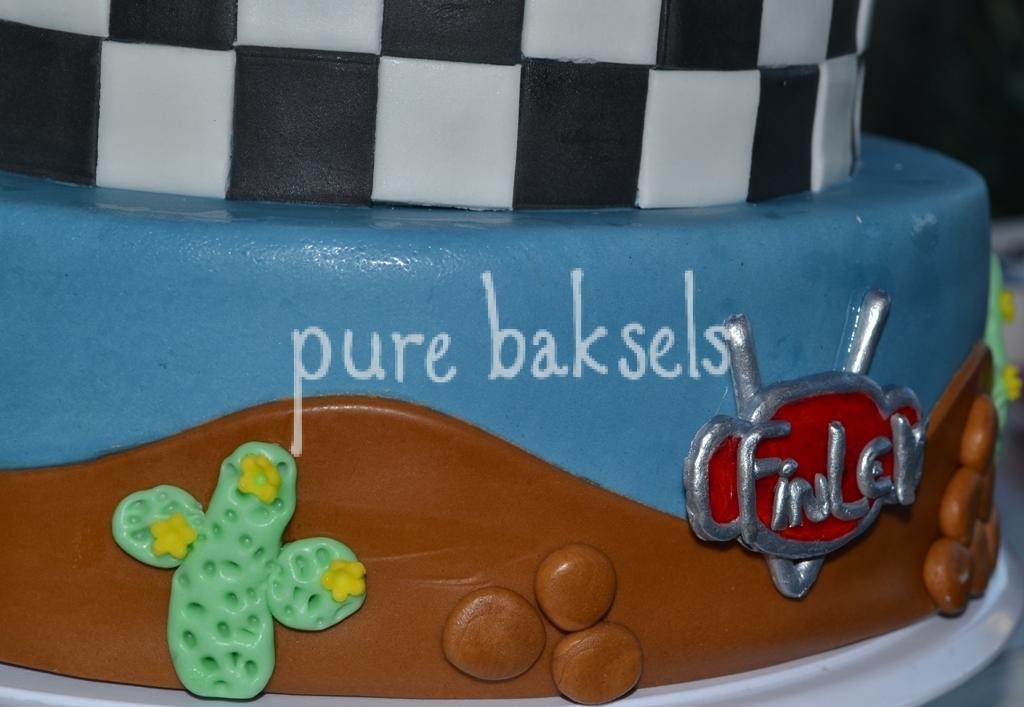 Cars taart Finley (4)