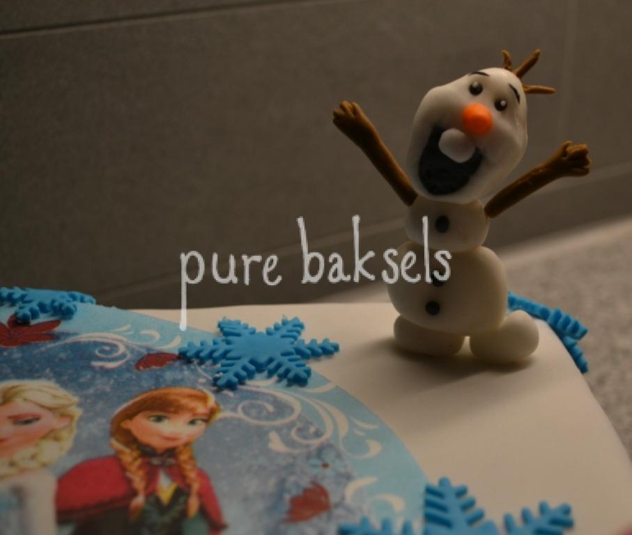 Frozen taart Liv (1)