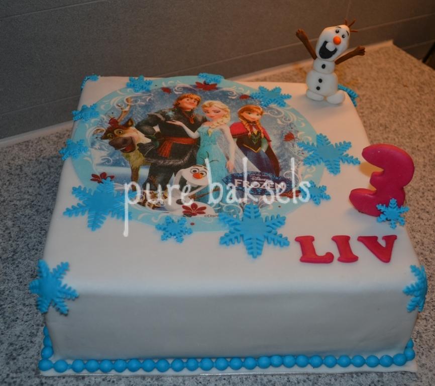 Frozen taart Liv (2)