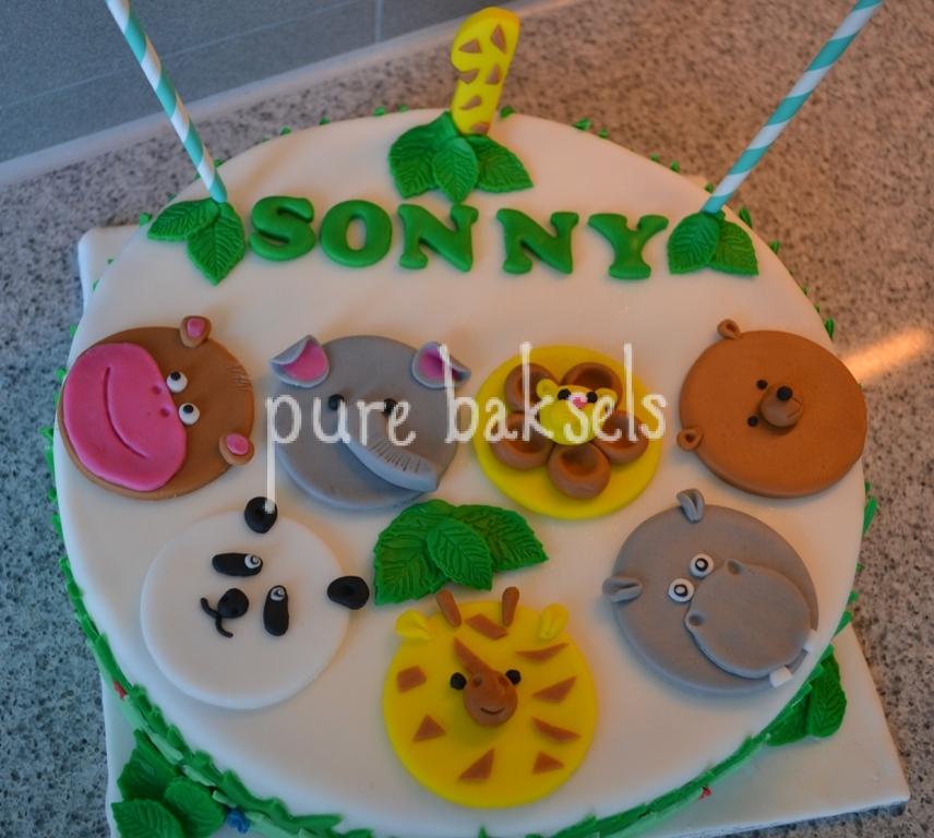 Jungle taart Sonny (3)